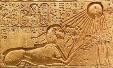 The picture Pharaoh and the Sun